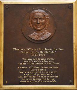 Clara Barton Plaque