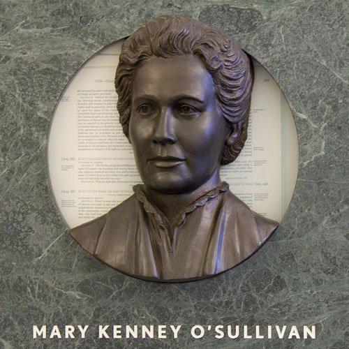 Hear Us mural - Mary Kenney O'Sullivan