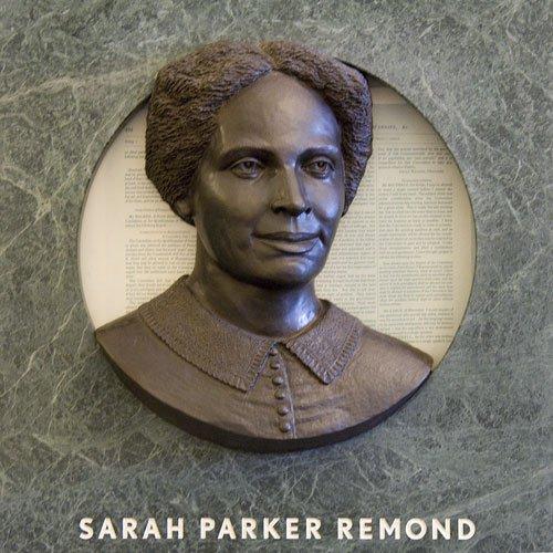 Hear Us mural - Sarah Parker Remond