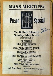 Poster for Mass Meeting: Prison Special