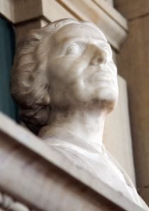 Bust of Alice Stone at Boston Public Library