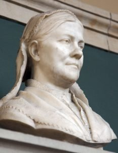 Bust of Lucy Stone at Boston Public Library