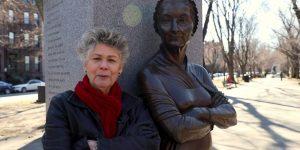 Susan Wilson by Abigail Adams statue