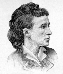 drawing of Jennie Collins