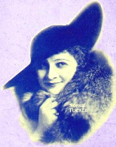 Sophie Tucker, 1917