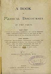 A Book of Medical Discourses by Rebecca Lee Crumpler