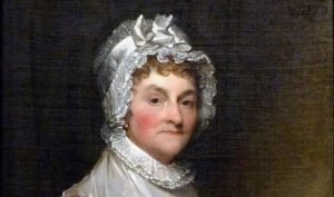Portrait of Abigail Adams by Gilbert Stuart