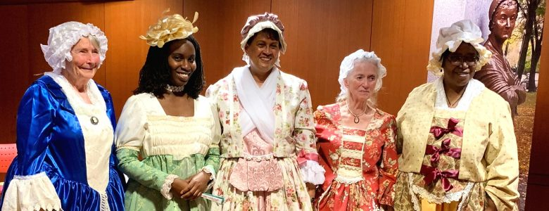 Postponed until 7/11! Final Farewell: Five Women Pay Tribute to Abigail Adams, July 11, Boston History Camp