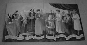 Boston Public Library mural