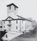 Brattle Street Church, Brattle Square