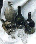 Tavern Glasses and Bottles