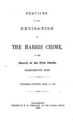 Announcement of Dedication of the Harris Chime