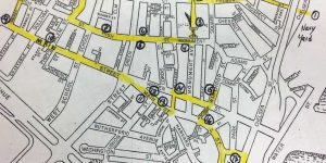 BWHT Charlestown Tour Map