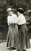 Harriot Curtis and Margaret Curtis