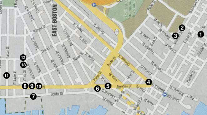 East Boston Map