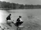 Ellen Swallow Richards at Jamaica Pond