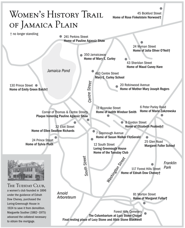 Jamaica Plain Map