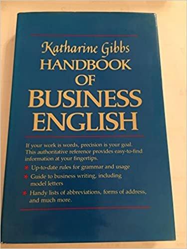 Katherine Gibbs' Handbook of Business English