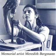 Memorial artist Meredith Bergmann