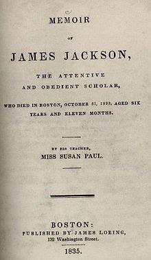 Memoir of James Jackson by Susan Paul