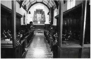 Inside St. Margaret's Convent