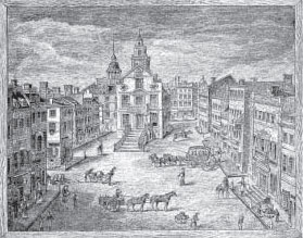 State Street in 1801
